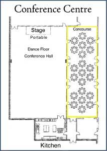 Conference Centre Concourse